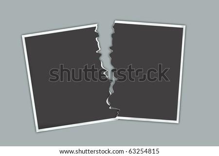broken photography - stock photo