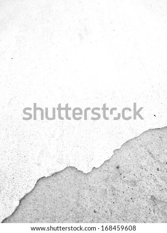 broken plaster wall, background 79 - stock photo