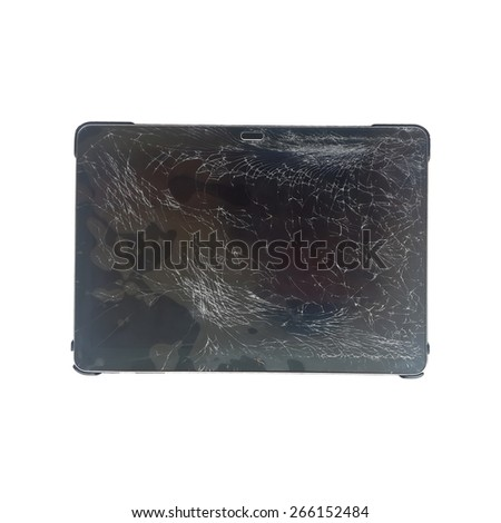Broken Screen Tablet