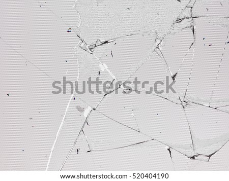 Broken shattered glass background texture