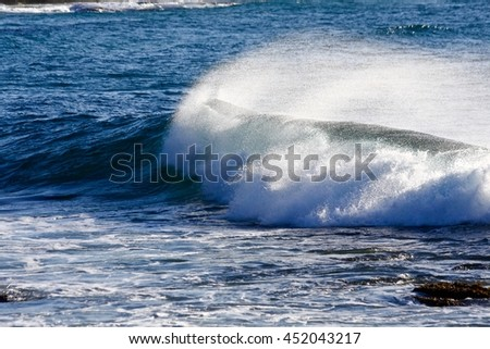 Bronte Beach Waves Australia