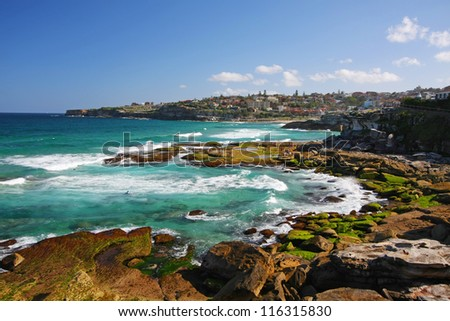 Bronte in Sydney, Australia - stock photo