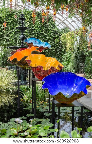 Dale Chihuly Stock Images Royalty Free Images Vectors Shutterstock