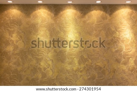 bronze background  luxury texture with a relief pattern  - stock photo