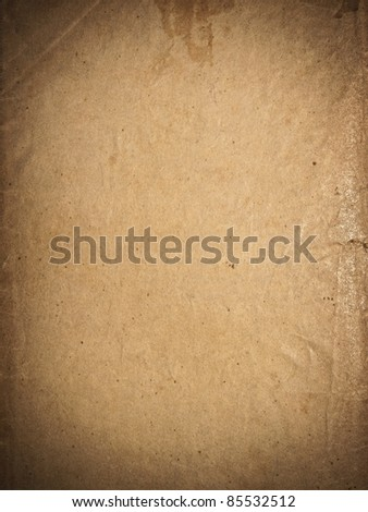 Bronze page of pergamin texture - stock photo