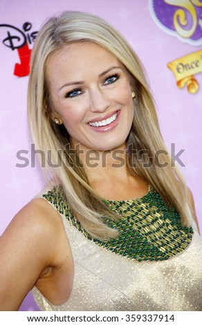 "Brooke Anderson at the Los Angeles premiere of ""Sofia the First: Once Upon a Princess"" held at the Disney Studios in Los Angeles, United States on November 10, 2012."
