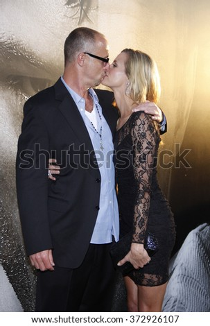 "Brooke Burns and Gavin O'Connor at the Los Angeles Premiere of ""Warrior"" held at the ArcLight Cinemas in Los Angeles, California, United States on September 6, 2011."