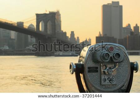 Brooklyn Bridge - stock photo