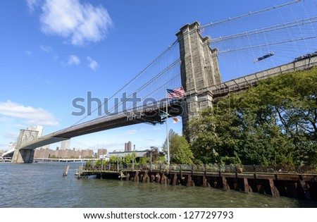 Brooklyn Bridge River Cafe