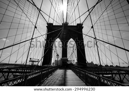 Brooklyn bridge sling