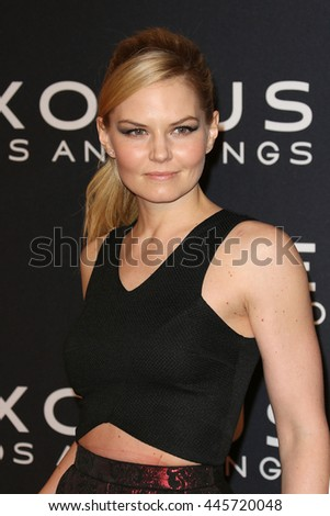 Brooklyn, New York, USA; December 7th, 2014;  Actress Jennifer Morrison arrives to the premiere of Exodus: Gods and Kings at the Brooklyn Museum. - stock photo