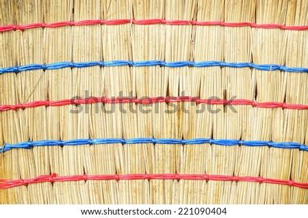 Broom texture - stock photo