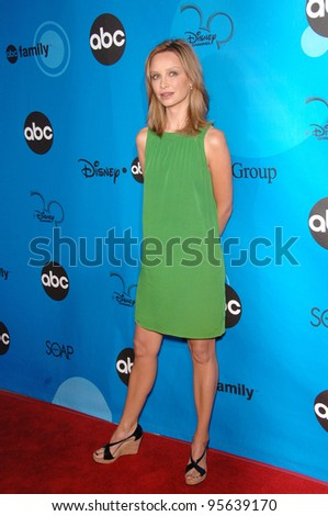 Brothers and Sisters star CALISTA FLOCKHART at the Disney ABC TV All Star Party at Kidspace in Pasadena. July 19, 2006  Pasadena, CA  2006 Paul Smith / Featureflash