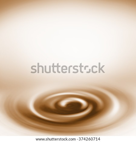 brown and beige swirl coffee background  - stock photo