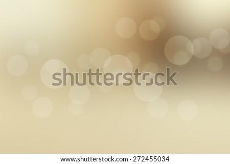 Brown background bokeh. - stock photo