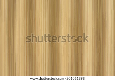 Brown background made of bamboo sticks - stock photo