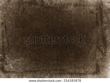 brown background old paper canvas texture background - stock photo