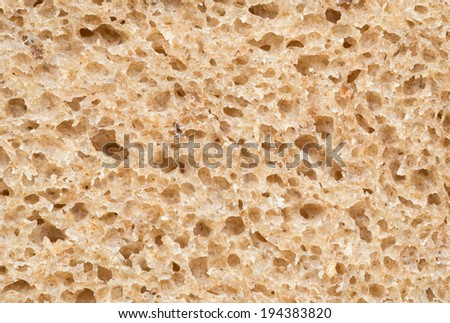 Brown bread, background texture
