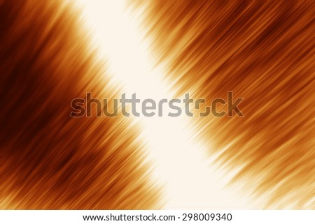 Brown bright background with reflection