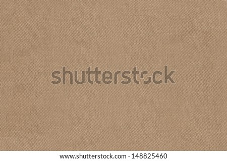 Brown canvas background or texture  - stock photo