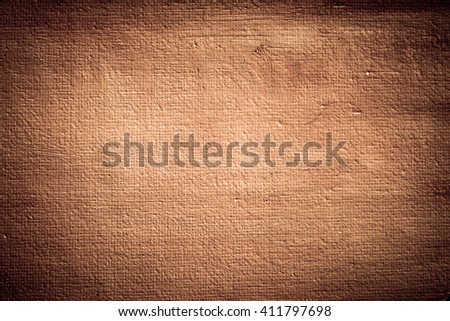 Brown canvas texture