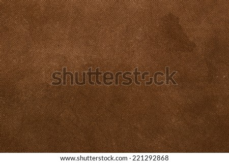 Brown canvas vintage background.