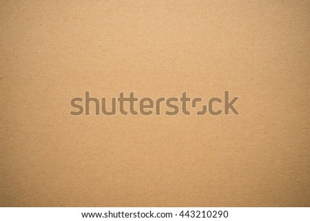 Brown cardboard or paperboard texture background