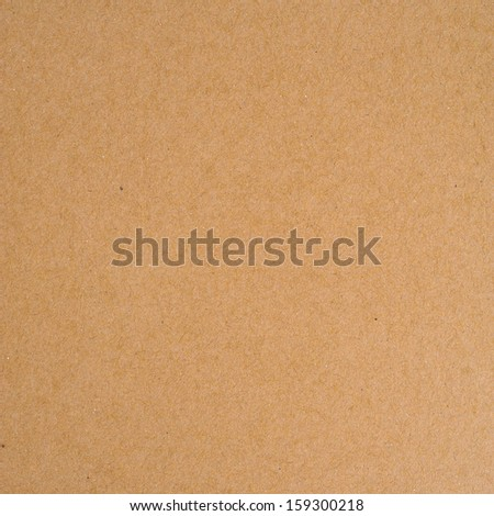 brown cardboard texture - stock photo
