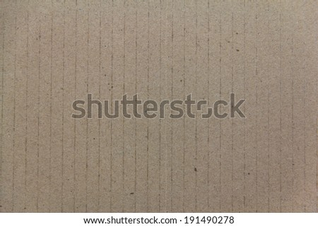 brown Cardboard texture Background - stock photo