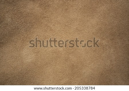 Brown chamois texture, fluffy and soft - stock photo
