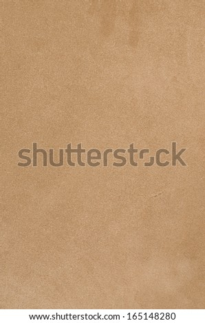 Brown chamois texture, fluffy and soft background. - stock photo