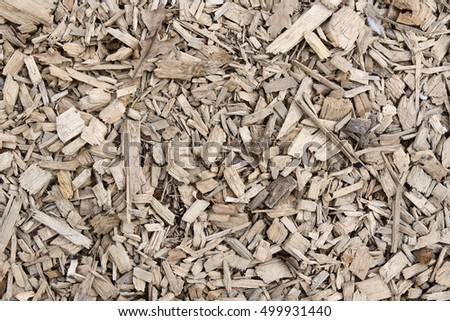 brown chipped wooden pieces used as decoration texture background