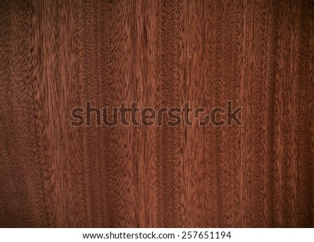 brown color nature  pattern detail of teak wood decorative furniture surface - stock photo