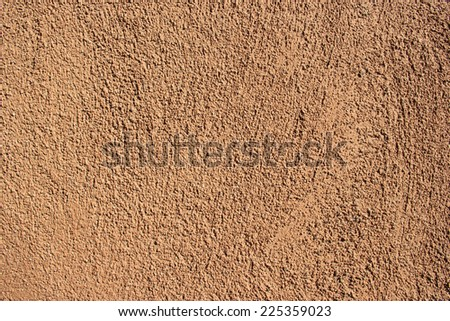 Brown Concrete Wall Surface for Background Usage
