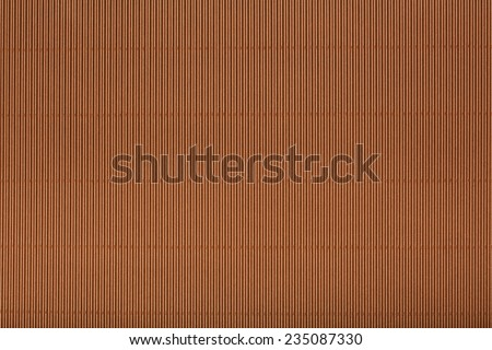 Brown corrugated cardboard carton in a  colorful texture background series. - stock photo