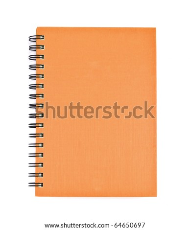 brown cover of Note book Horizontal