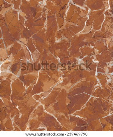Brown cracked marble