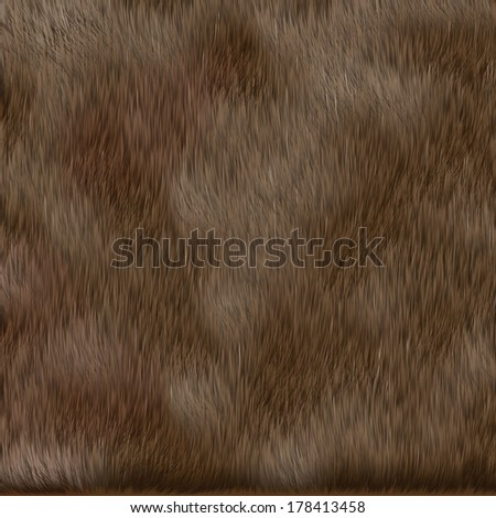 brown dog fur texture - stock photo
