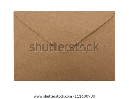 Brown Envelope - stock photo