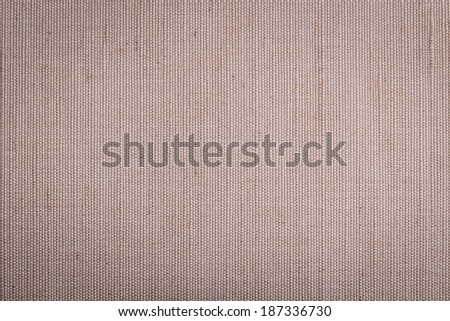 Brown fabric background / texture