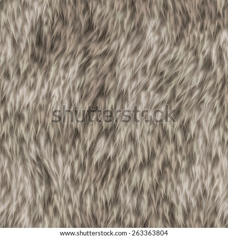 Brown furry texture seamless pattern background.