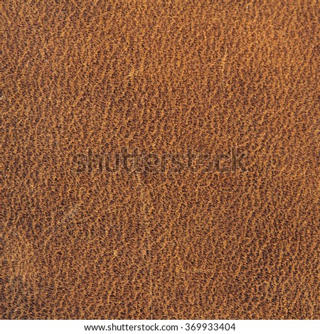 Brown Glossy Faux Leather Background Texture - stock photo