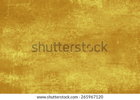 Brown golden shine abstract   background , with   painted  grunge background texture for  design .