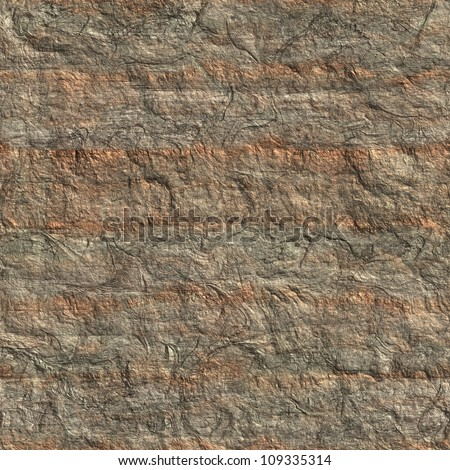 Brown granite seamless background - stock photo