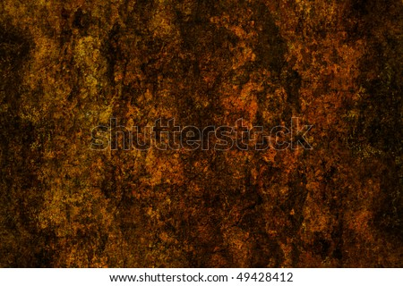 brown grunge wall surface, background