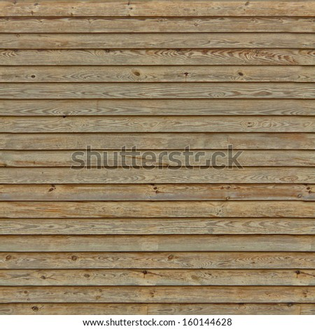 brown horizontal planks seamless texture - stock photo