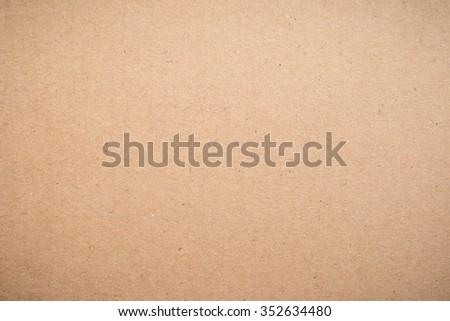 Brown Kraft Paper Texture - stock photo