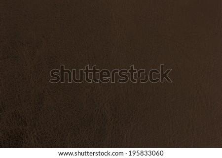 Brown Leather Background./ Brown Leather Background. - stock photo