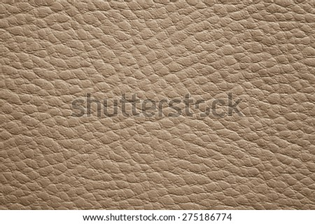 Brown leather closeup texture background - stock photo