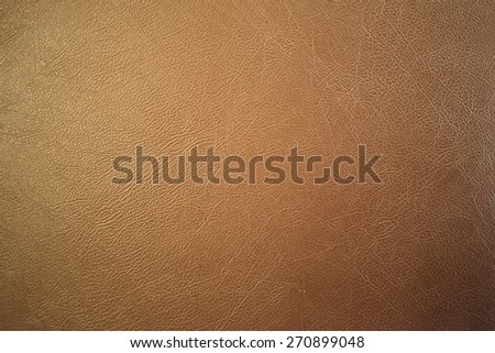 brown leather texture. - stock photo